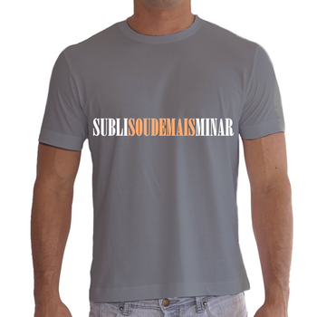 Camiseta Sublisoudemaisminar by 98inalu-X
