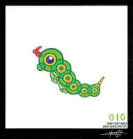Caterpie - Pokemon One a Day! by BonnyJohn