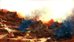 Scorched planet by Zairaam