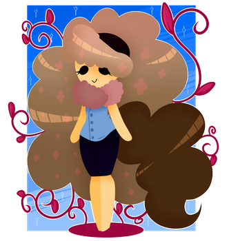 This hair is too goddamn fluffy by Fake-Insomnia