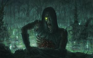 Swamp zombies by ListenerKz