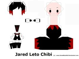 Jared Leto Papercraft Template by SnowBlueWolf