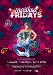 Flyer Masked Fridays Party with model by n2n44
