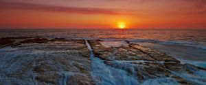 Sunrise Flowing by MarkLucey