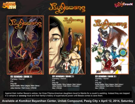 New Releases: Fly Aswang comics by creativemediaph
