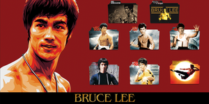 Bruce Lee Movies Collection (1971-1993) Folder Ico by AliMj
