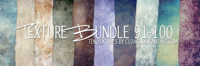 Texture Bundle 91-100 by cloaks
