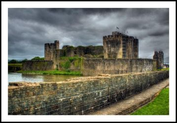 Caerphilly Castle II by zider-red