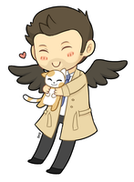 Cas cat by Amphany