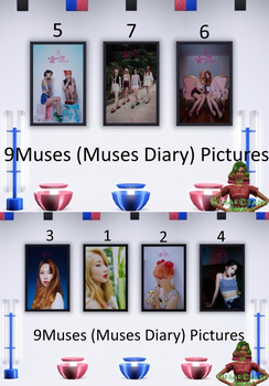 9Muses (Muses Diary) Pictures - Sims3 by babygreenlizard