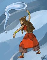 3rd Season Katara by TriaElf9