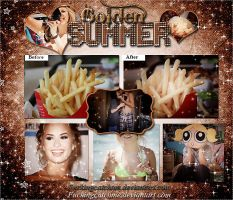 Golden Summer PSD by Fucking-CatchMe