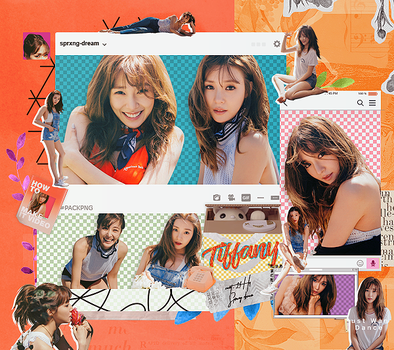 |TIFFANY (SNSD) PACK PNG| by sprxng-dream