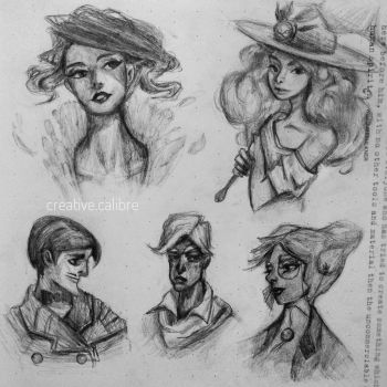 Style Studies | Transistor by CreativeCalibre