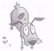 Courage the Cowardly Dog by Uliax3