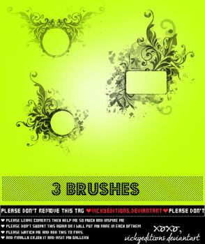 Brushes ~O1 by VickyEditions