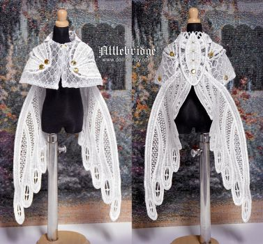 Fairy Knight - BJD Cape by Fylgjur