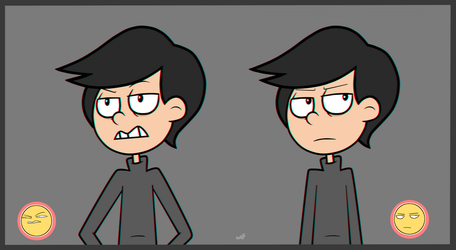 : Face expressions (Principal of the Thing) : by Amazing-Girl-Forever