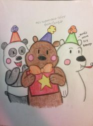 Birthday with the Bears~ by corajbae09
