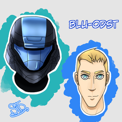 Scout Head - ODST reference by MaggotPsycho115