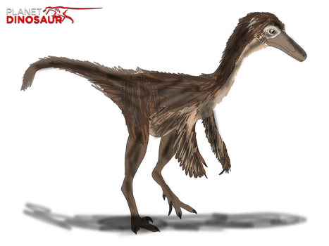 Planet Dinosaur- Saurornithoides by Vespisaurus