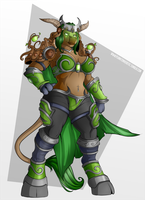 [COM] Ysera - Tauren Form by PlanktonHeretic