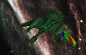 Romulan Brightwing destroyer by falcon01