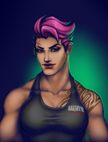 Zarya Downtime by x0mbi3s