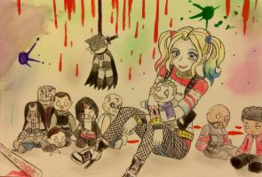 Suicide Squad Harley by FallenAngel5414