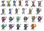 Cheap Character Adopts Batch 1-(OPEN 17/21) by Amabyllis