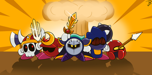 Meta Knights to arms! by Jdoesstuff