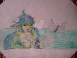 Art Trade: Cheer Up Giga Mermaid by BenorianHardback26
