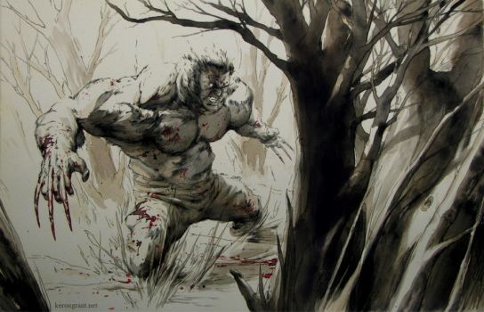 Wolverine Commission by Kerong