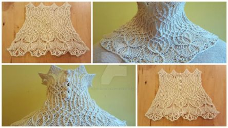 Smocked Cowl by FearlessFibreArts