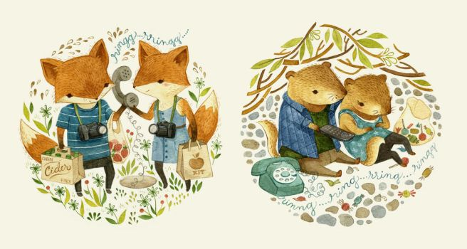 Foxes and Woodchucks Weren't Meant to be Friends by teaganwhite