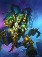 Hearthstone - Crypt Lord by namesjames