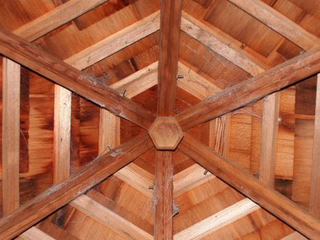 Wooden Roof by rustbucketracer