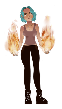 Element: Fire by MixMaster15