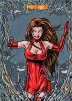 Witchblade Sketch Card 1 by tonyperna