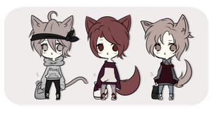 #27 Adoptable Batch |Closed by WaterfallDreamAdopts