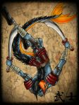Japanese Warrior by Carlie-NuclearZombie