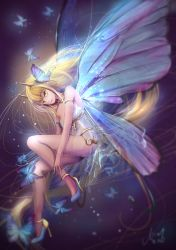 Butterfly fairy: collab work