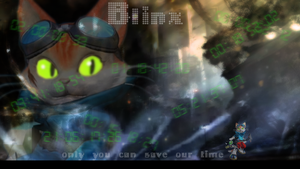 Blinx Desktop Background by CelticGaea