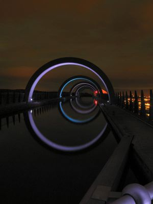 Falkirk Wheel Aqueduct V2 by alloria-sjg
