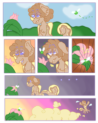 It Really Bugs Him (Comic) (MYO Prompt) by Pegasisteryolo