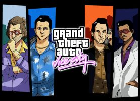 Grand Theft Auto: Vice City by TheFresco