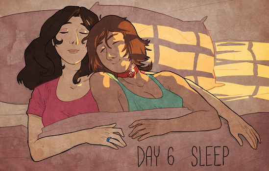 Korrasami Week 2017 - Day 6: Sleep by Phi8