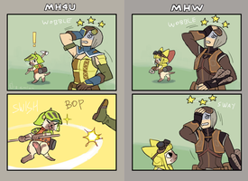 MHW palicos by emlan