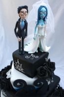 Corpse Bride Figurines by Verusca