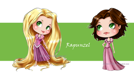 Rapunzel by sky-illuminated